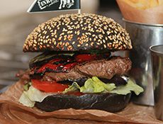 Black Steak Burger